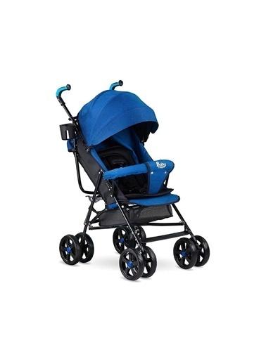 BabyHope Erkek Kız Bebek Baston Bebek Arabası Sa7 Bbhp Mavi